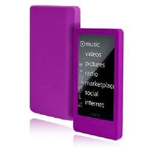 Incipio Zune HD dermaSHOT Silicone Case (Purple)