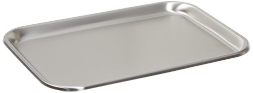 Polar Ware 13F Stainless Steel Serving Tray with Rolled Bead, 13-11/16