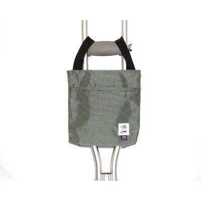 Handi Pockets 1a4ch Storage Accessory Crutch, Nylon, Charcoal Gray