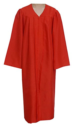 Grad Days Unisex Adult Choir Robes Matte Finish Confirmation Robe Red 45 by Grad Days