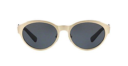 Versace 2179 Metal Womens Sunglasses. Color gold (1339/87). Black lenses 100% - Sunglasses Gold Black And Versace