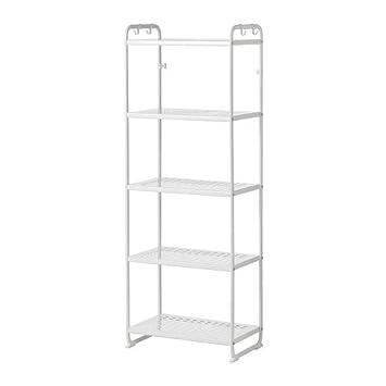 Ikea Regal Weiß ikea mulig regal weiß amazon de küche haushalt