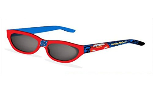 Disney Jungen Sonnenbrille - UV 400 Protection - Micky Maus Cars Jake (Cars (rot/blau))