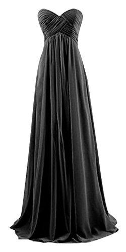 Schwarz Schwarz Bandeau Damen Drasawee Kleid vO4YwIIq