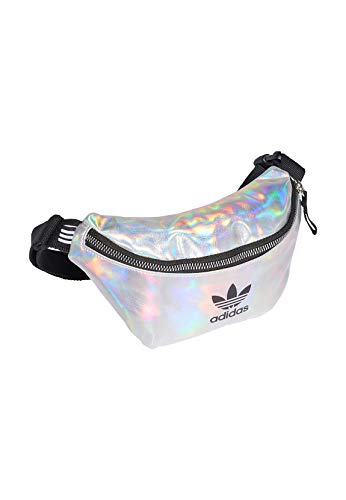adidas Waistbag Running Belt, Mujer, Silver Met./Iridescent, NS
