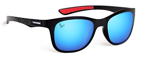 Officially Licensed NFL Sunglasses, Houston Texans, 3D Logo on Temple - 100% UVA, UVB & UVC Protection