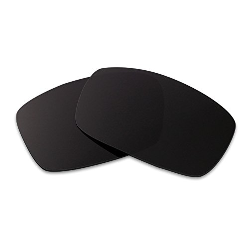 Hkuco Mens Replacement Lenses For Spy Optic Logan Sunglasses Black