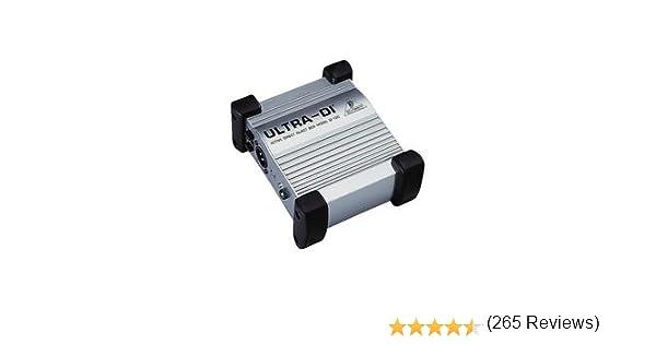 Behringer DI100 - Caja activa de inyección directa: Amazon.es ...