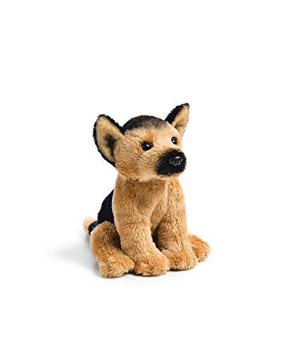 DEMDACO German Shepherd Puppy Children's Plush Beanbag Stuffed Animal Toy