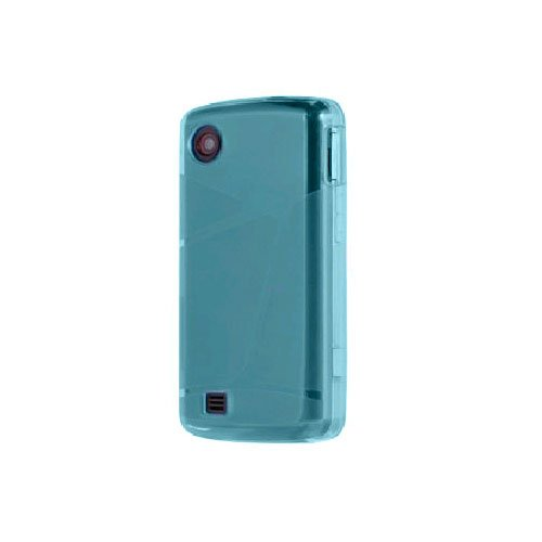 Verizon OEM Verizon LG Chocolate Touch VX8575 High Gloss Silicone Case - Blue (Chocolate Touch Phone Cases compare prices)