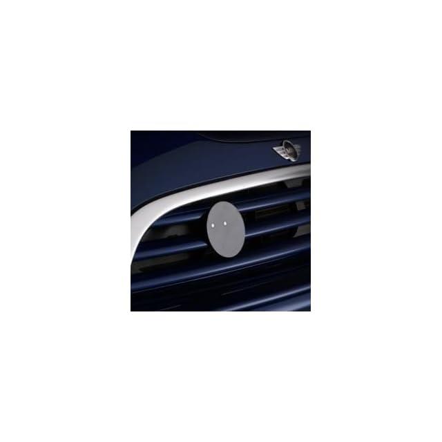 MINI Cooper Hardtop 51 13 0 443 374 Grille Badge Holder for Mini Cooper S and John Cooper Works Models and Vehicles w/ John Cooper Works Aero Kit