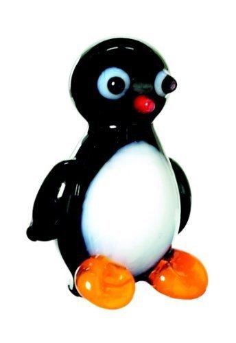 - Miniature Glass Penguin Figurine
