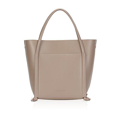 Hazlmay Lily Minimalist Faux Leather Women's Medium Tote Handbag
