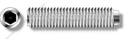 Hex Socket Drive UNC Coarse Thread 3//8-16 X 5//16 Set Screws ASPEN FASTENERS Cup Point 30 pcs 18-8 AISI 304 Stainless Steel