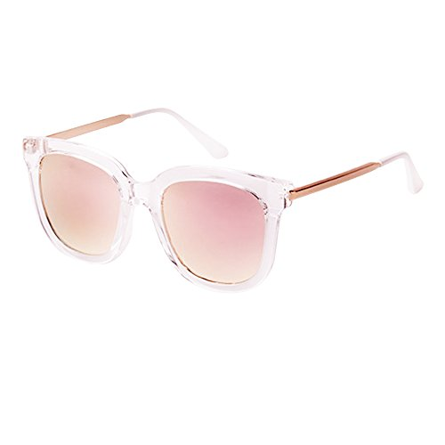 Kaimao Vintage Fashion Sunglasses for Men Women Unisex Eyewear with Case and Cloth - - Can Lenses Sunglasses Optical Have