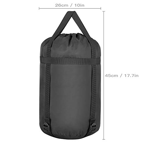 TINANA Compression Stuff Sack, Waterproof Sleeping Bags Storage Stuff Sack Organizer, Great for Back - http://coolthings.us