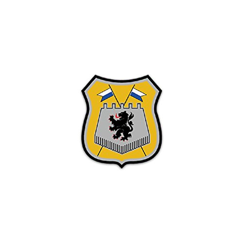 Reconnaissance Tank (PzAufklBtl 10 Tank Reconnaissance Battalion Division Bundeswehr Army Command Germany Ingolstadt badge emblem for Audi A3 BMW VW Golf GTI Mercedes (6x7cm) - Sticker Wall Decoration)