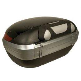Dosseret passager pour E55 Maxia III soft noir-gris