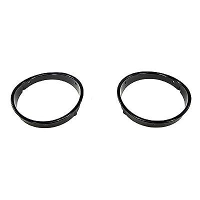Outland 391241923 Black Headlight Bezel for Jeep Wrangler, 1 Pack