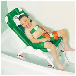 [Otter Bathing System Large Bath Chair. User height 46