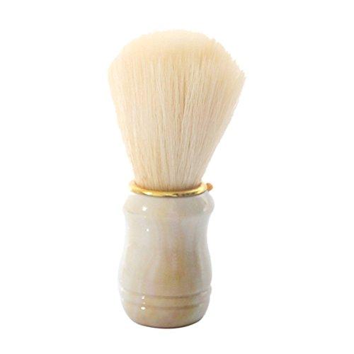 ACE Barber Salon Shave Shaving Razor Brush Plastic Handle Mustache Brushes For Men Clearance Beard Beauty Tools