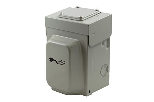 AC WORKS Super Durable Industrial Grade Locking Power Input Inlet (L14-30 Metal Box)
