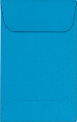 #1 Coin Envelopes (2 1/4 x 3 1/2) – Pool (250 Qty.) | Perfect for the HOLIDAYS, Weddings, Parties & Place Cards | Fits Small Parts, Stamps, Jewelry, Seeds | LUX-1CO-102-250
