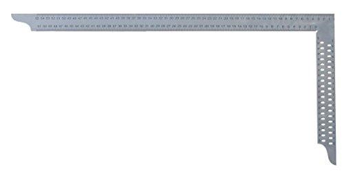 hedue Zimmermannswinkel ZN mit mm-Skala Typ A und Anreißlöcher, 800 mm, Z282