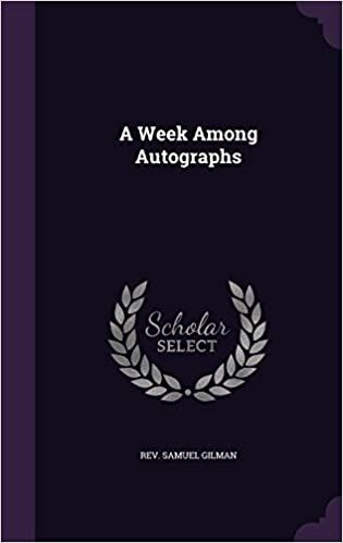 Book A Week Among Autographs