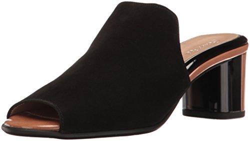 BeautiFeel Women's Raine Mule Black Sd/Bison Pa FTowEvO