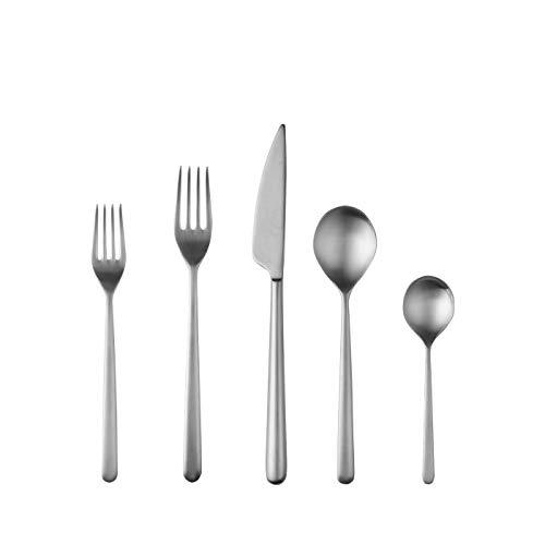 Mepra Linea Ice Cutlery 5 Piece Place Setting