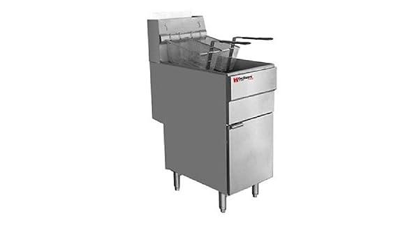 Amazon.com: Cecilware FMS504 Commercial Heavy Duty 50 lbs Natural Gas Deep Fryer: Industrial & Scientific