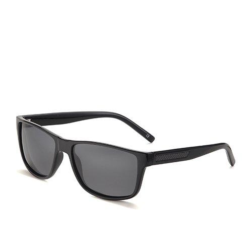Guide C1 Smoke Sunglasses Pêche Hommes en TL de Lunettes Wayfarer Polarisées de Black Plastique Soleil Lunettes Carrée Lunettes Homme OSwfx1a