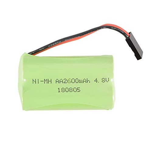(XCSOURCE RC 4.8V 2600mAh AA NI-MH Rechargeable Square / Flat Battery Pack with Futaba Connector for RC Futaba Hitec JR)