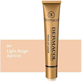 Dermacol Make-up Cover - Waterproof SPF 30 Hypoallergenic Foundation 30g 100% Original Guaranteed from Authorized Stockists (207)