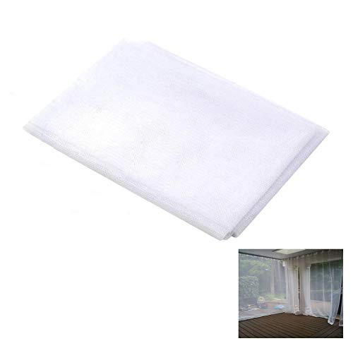 (Ecover Mosquito Net DIY Fabric Insect Pest Barrier Netting Curtains for Home/Travel/Camping, 10ft x 54
