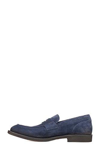 SEBOY'S Mocassini Uomo P3784 Camoscio Blu