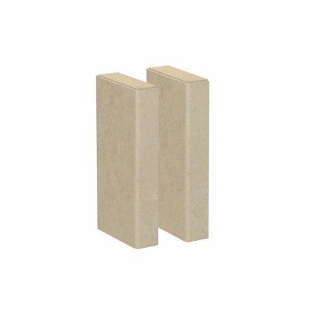 American Bath Factory TH-24-MD 24 in. Medium Wall Threshold Extension (American Bath Factory Stone)