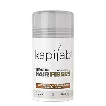 Kapilab Fibras Capilares (12,50 gramos, Castaño Claro): Amazon.es: Belleza