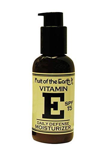 Fruit of the Earth Vitamin-E Moisturizer Daily Defense 4 oz. SPF #15 (Fruit Of The Earth Vitamin C)