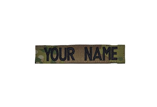 Velcro Name Tapes (Custom Multicam / Scorpion / OCP Name Tape with Velcro US Army)