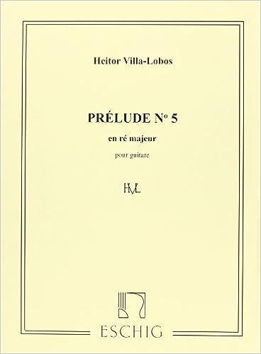 Prélude No5 Guitare