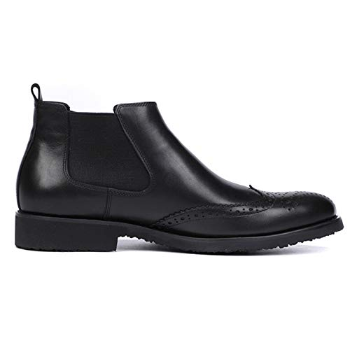 Uomo Chelsea Pelle Business Stivali Classic in da Stivaletti Boots Uomo snfgoij Pelle Black Brogue Scamosciata Oxblood Safety Top qERdRCafwZ