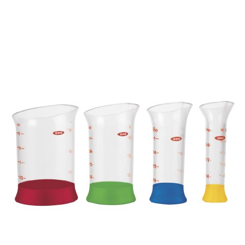 (OXO Good Grips 4-Piece Mini Measuring Beaker)