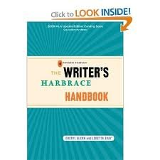Read Online The Writer's Harbrace Handbook 4th (fourth) edition Text Only pdf