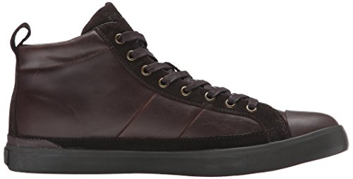 Ralph Lauren Mens Clarke Smithoil Sportside Leather Trainers Brown