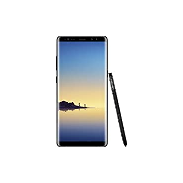 Samsung Galaxy Note 8 64GB 6.3 Factory Unlocked Phone Midnight Black (US Warranty)