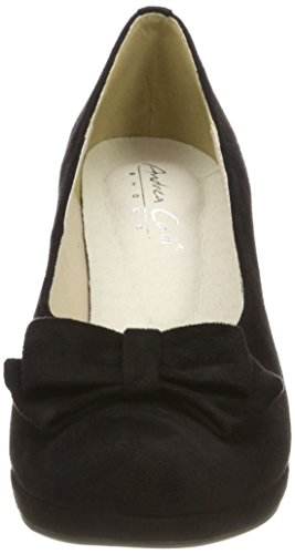Conti Heels Closed Black Andrea Women's 002 Schwarz Toe 1005718 zan4qw