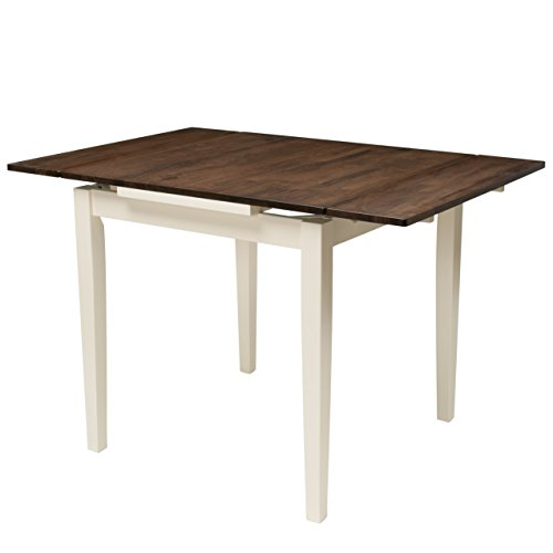CorLiving Dillon Dining table Dark Brown/Cream