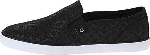 G by GUESS Women's Malden Black/Black Shining Loafer 8 M